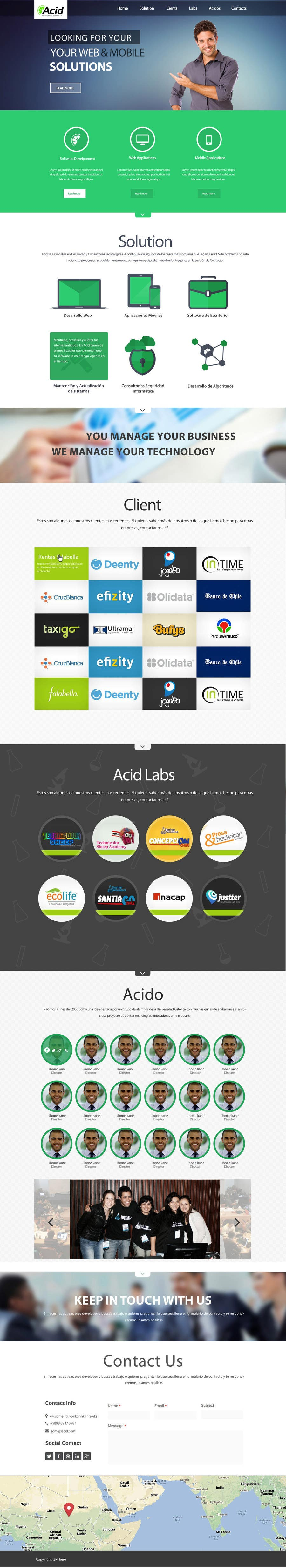 #49 for Develop a Corporate Identity for Acid Labs by SadunKodagoda
