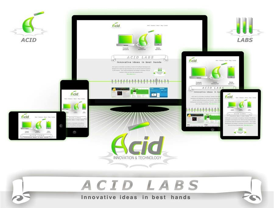 #50 for Develop a Corporate Identity for Acid Labs by ivanaantolovic