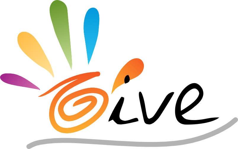 "Kilpailutyö #26 kilpailussa Design a Logo for a charity website called "" give """