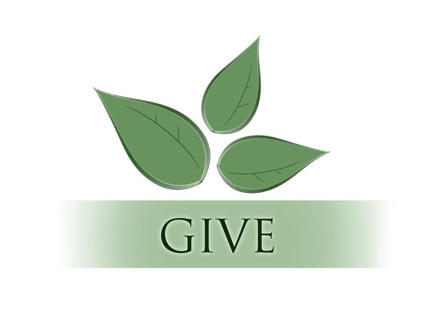 "Kilpailutyö #18 kilpailussa Design a Logo for a charity website called "" give """