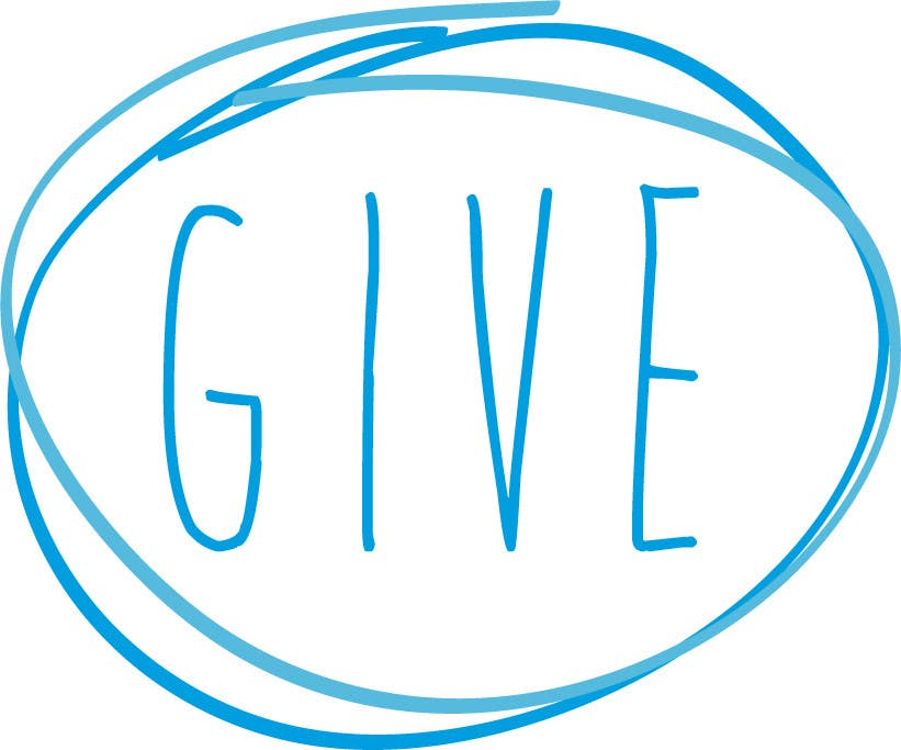"Kilpailutyö #6 kilpailussa Design a Logo for a charity website called "" give """