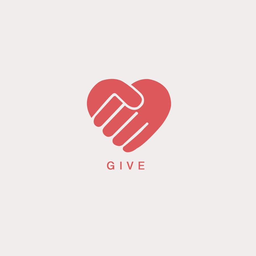 "Kilpailutyö #98 kilpailussa Design a Logo for a charity website called "" give """