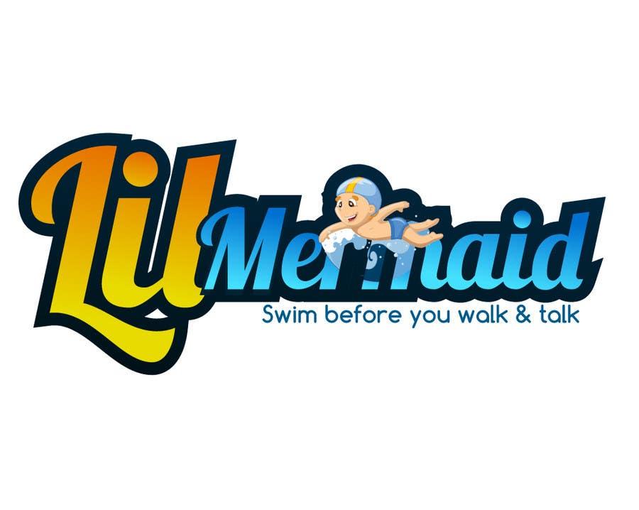 Kilpailutyö #60 kilpailussa Design a Logo for lil mermaid