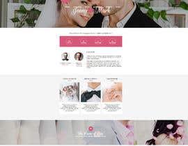 #5 para WEDDING WEBSITE de saeed61411