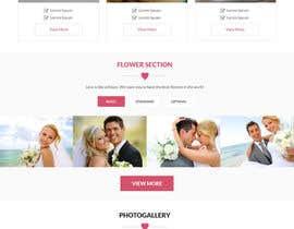 #2 para WEDDING WEBSITE de Aloknano