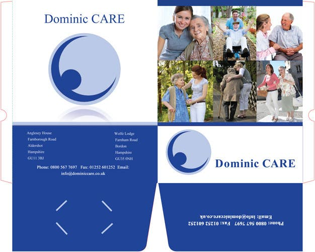 Contest Entry #4 for Stationery Design for Dominic Care Limited
