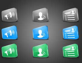 dinhnp tarafından Redesign three web application GUI icons için no 32