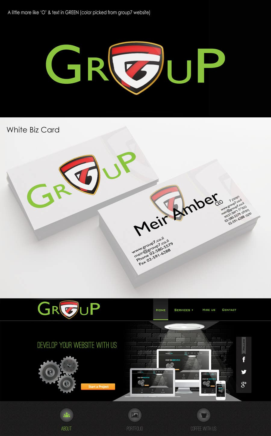 #37 for Design Logo & Business Card by theKoolwool