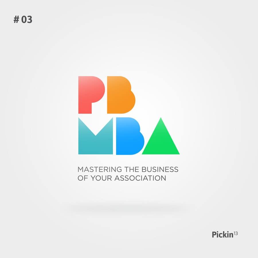 Proposition n°62 du concours PB MBA Logo