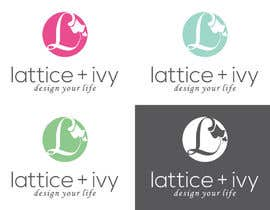 #125 for New Logo Design for lattice & ivy by winarto2012