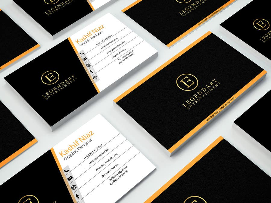 Entry #32 by hafizkashif007 for Design Business Cards for NightLife ...