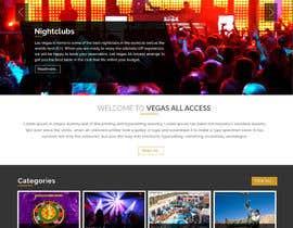 #2 untuk Design a Website Mockup (Homepage) for a Vegas Concierge Site oleh jituchoudhary