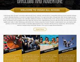 #26 untuk Design a Website Mockup (Homepage) for a Vegas Concierge Site oleh atularora