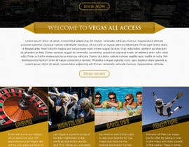 #27 untuk Design a Website Mockup (Homepage) for a Vegas Concierge Site oleh atularora