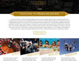 #28 untuk Design a Website Mockup (Homepage) for a Vegas Concierge Site oleh atularora