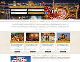 #12 untuk Design a Website Mockup (Homepage) for a Vegas Concierge Site oleh jkphugat