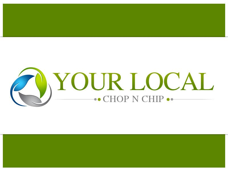 Konkurrenceindlæg #34 for Logo Design for YOUR LOCAL CHOP N CHIP