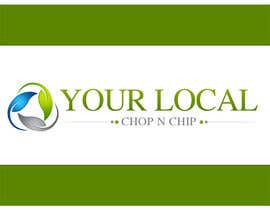 #34 dla Logo Design for YOUR LOCAL CHOP N CHIP przez e2developer