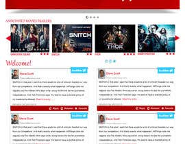 iffal tarafından Build a Wordpress Website for Movie Reviews için no 48