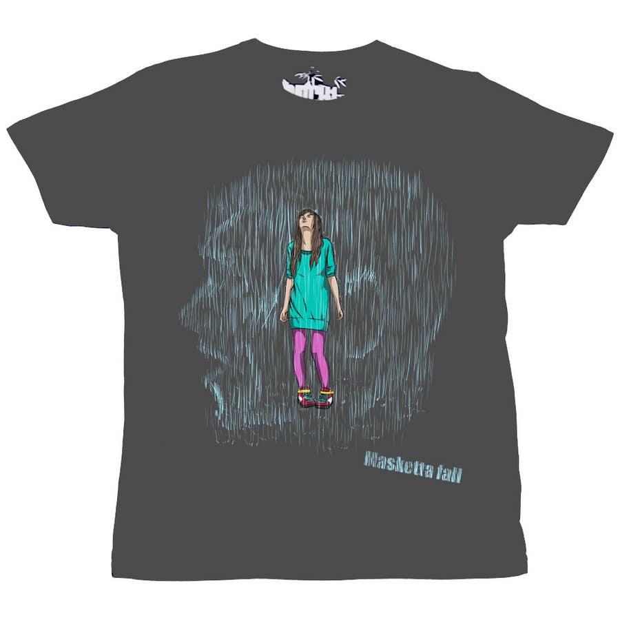 Kilpailutyö #76 kilpailussa T-shirt Design for Masketta Fall
