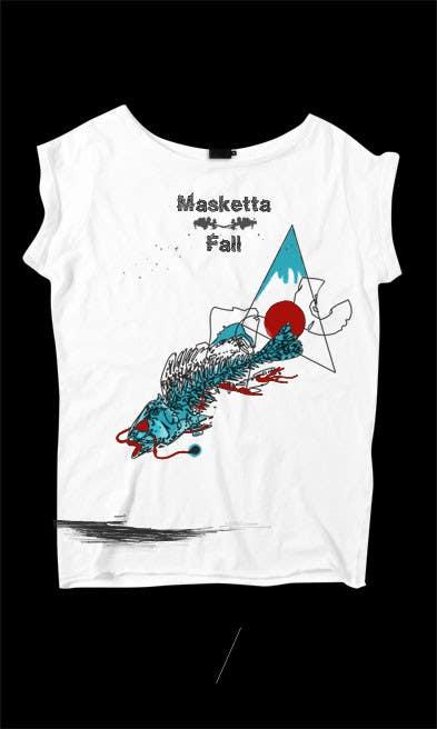 T-shirt Design for Masketta Fall için 56 numaralı Yarışma Girdisi