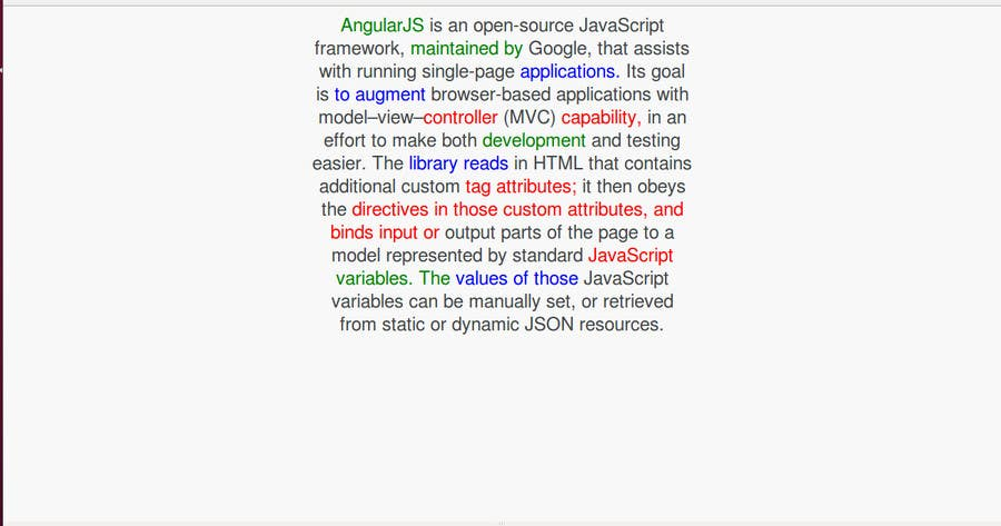 #5 for Build a single page web application using Angular JS by shubham166