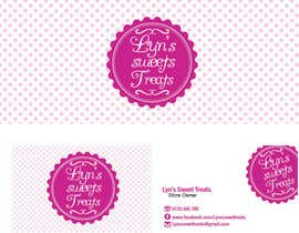 #88 para Business Card & Facebook Banner for Lyn's Sweet Treats por sharmzbayona