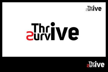 nº 5 pour Design a Logo for Thrive to Survive par iffikhan