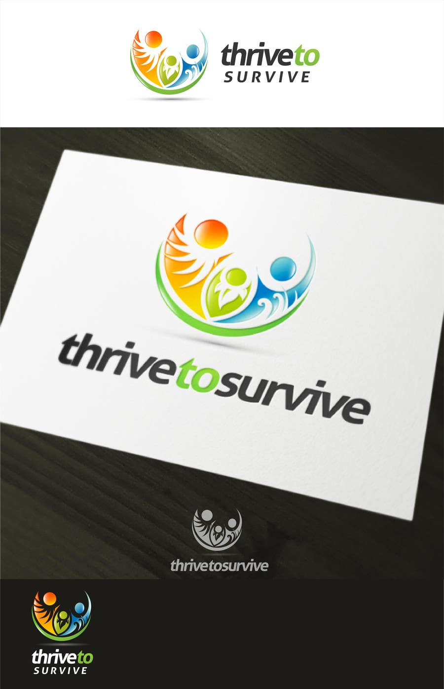 #24 for Design a Logo for Thrive to Survive by sbelogd
