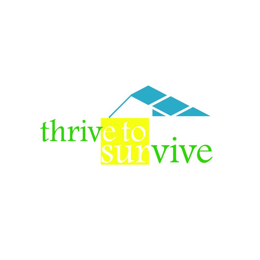 #4 for Design a Logo for Thrive to Survive by zahrazibarazzzz