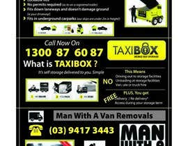 nº 7 pour Design an Advertisement for joint marketing - Mobile Skips / Man With a Van / Taxi Box par Manojm2