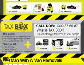 nº 5 pour Design an Advertisement for joint marketing - Mobile Skips / Man With a Van / Taxi Box par GreenworksInc