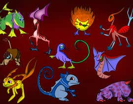 #15 for pokemon / digimon character style af raghavanc