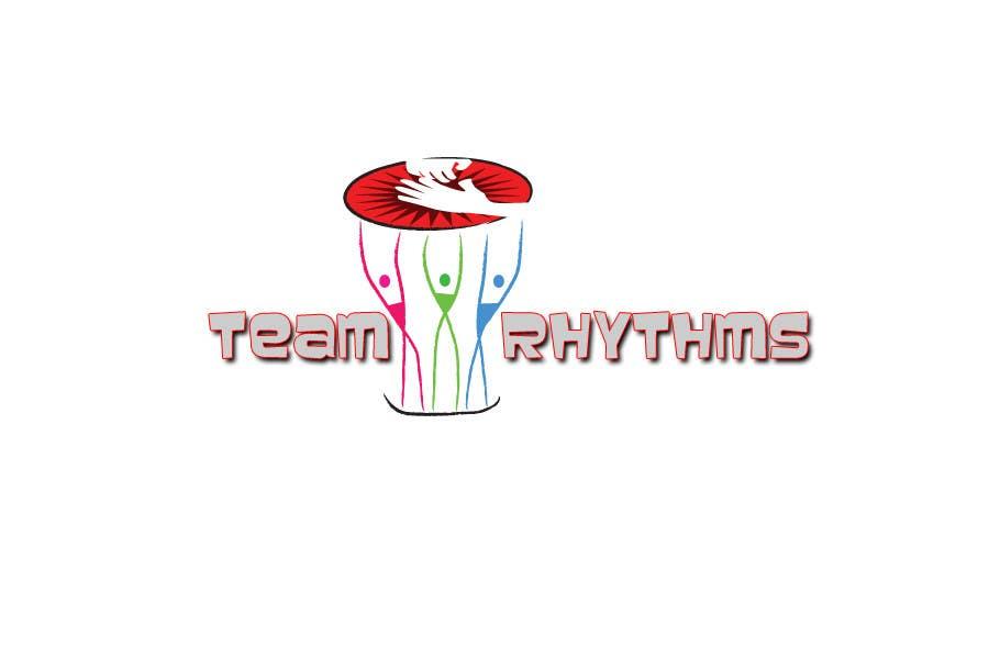 Kilpailutyö #101 kilpailussa Logo Design for Team Rhythms