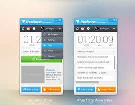 #80 for New Design for the Freelancer.com TimeTracker App by JustLogoz