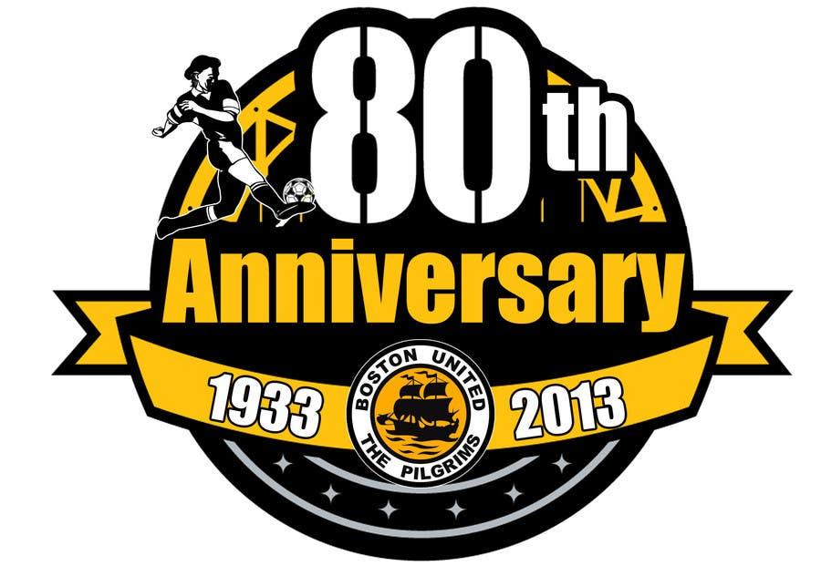 Bài tham dự cuộc thi #                                        41                                      cho                                         Design a Logo for Boston United Football Club's 80th Anniversary