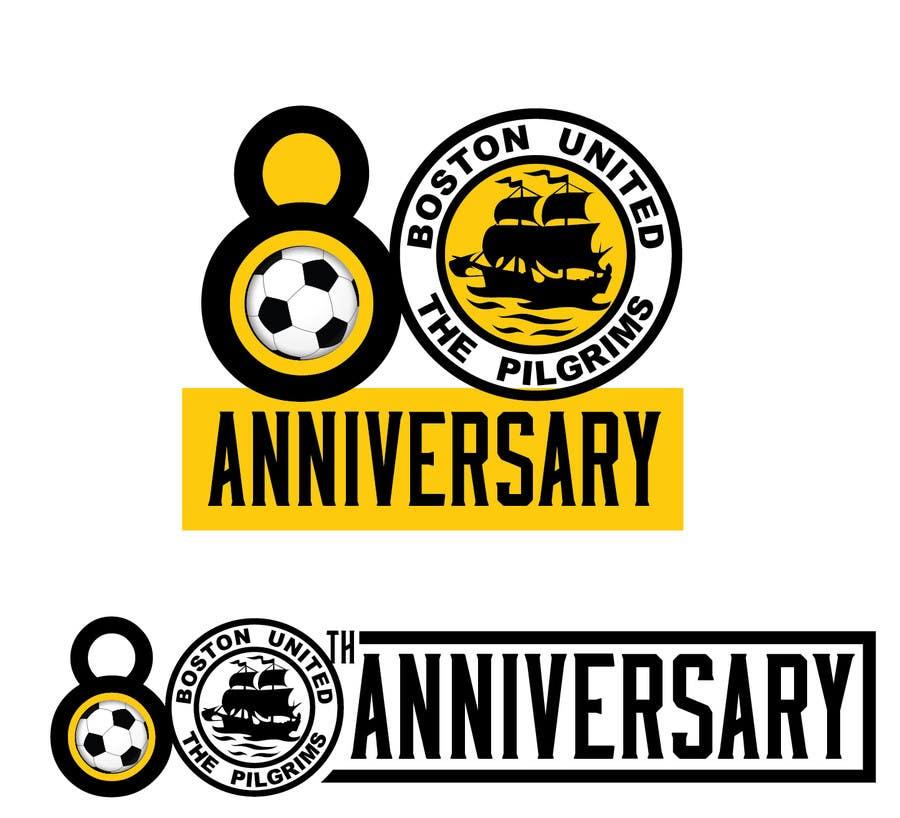 Bài tham dự cuộc thi #                                        53                                      cho                                         Design a Logo for Boston United Football Club's 80th Anniversary