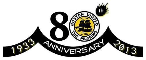 Bài tham dự cuộc thi #                                        24                                      cho                                         Design a Logo for Boston United Football Club's 80th Anniversary
