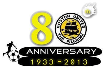 Bài tham dự cuộc thi #                                        25                                      cho                                         Design a Logo for Boston United Football Club's 80th Anniversary