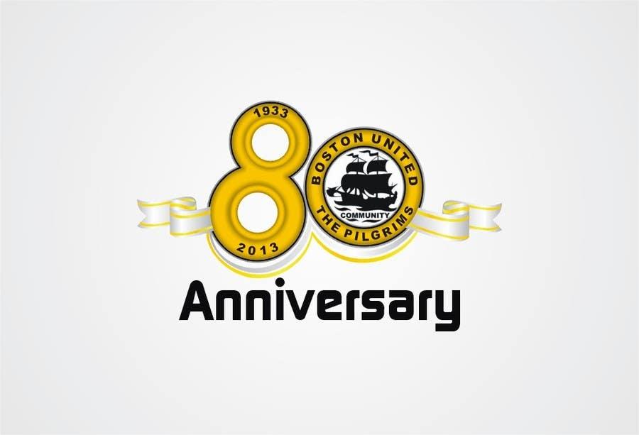 Bài tham dự cuộc thi #                                        31                                      cho                                         Design a Logo for Boston United Football Club's 80th Anniversary