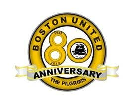 #49 para Design a Logo for Boston United Football Club's 80th Anniversary por A1Designz