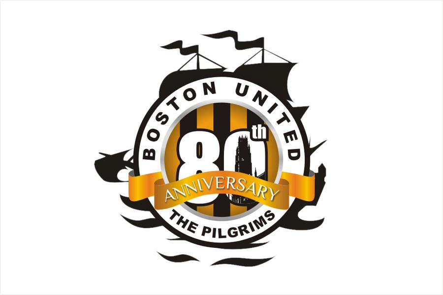 Bài tham dự cuộc thi #                                        42                                      cho                                         Design a Logo for Boston United Football Club's 80th Anniversary