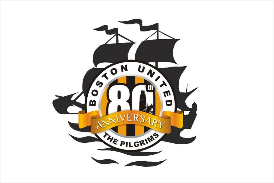 Proposition n°47 du concours Design a Logo for Boston United Football Club's 80th Anniversary