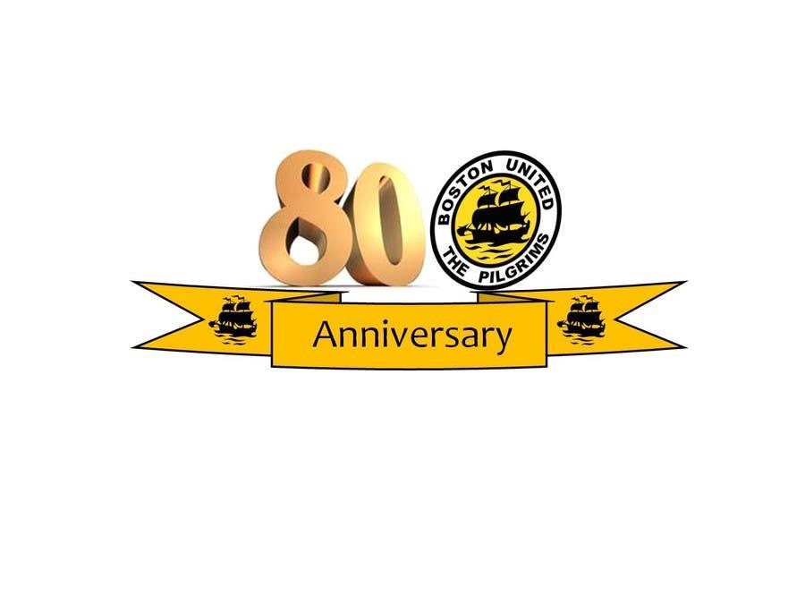 Bài tham dự cuộc thi #                                        44                                      cho                                         Design a Logo for Boston United Football Club's 80th Anniversary