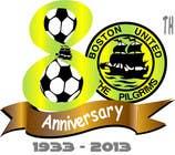 Bài tham dự #34 về Graphic Design cho cuộc thi Design a Logo for Boston United Football Club's 80th Anniversary