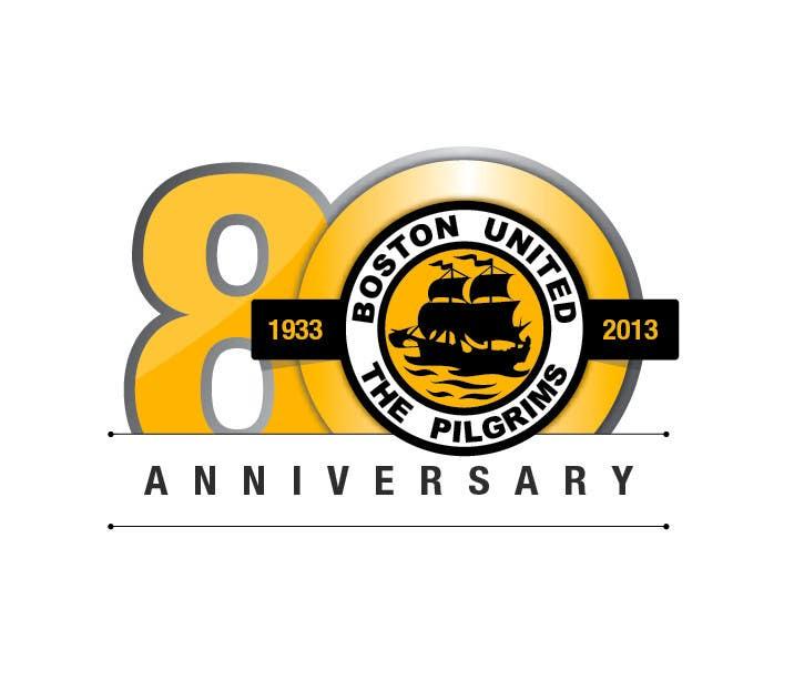 Bài tham dự cuộc thi #                                        50                                      cho                                         Design a Logo for Boston United Football Club's 80th Anniversary