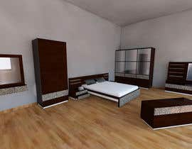 #9 para Modern Bedroom Set Design por ilzedesaine1