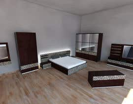 #17 para Modern Bedroom Set Design por ilzedesaine1