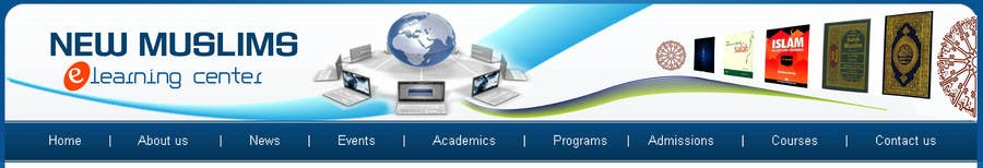 Contest Entry #                                        48                                      for                                         Header design for our new eLearning site