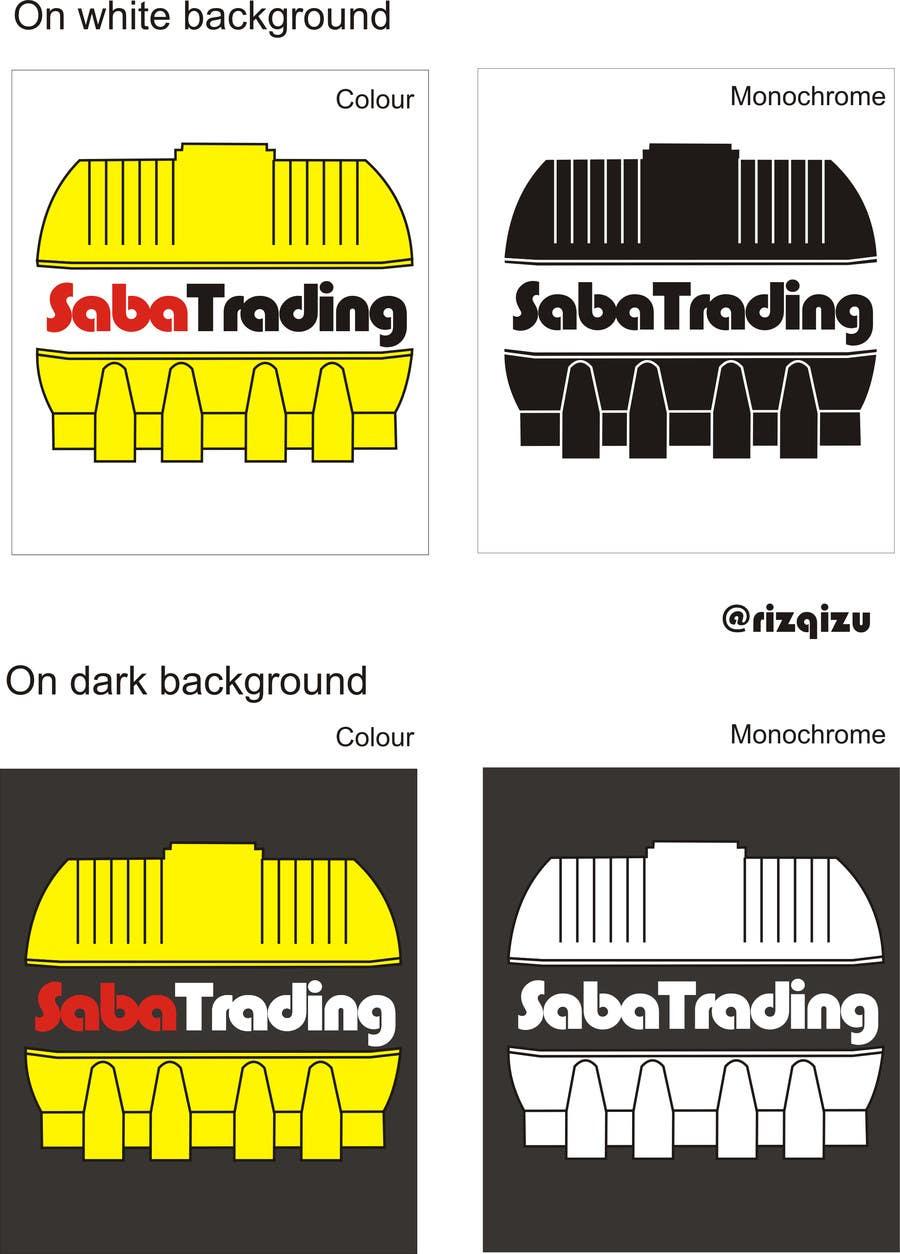 Kilpailutyö #171 kilpailussa Design a Logo for saba trading